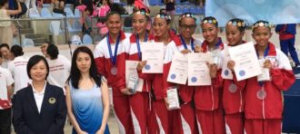 Medali Lagi! Prestasi Mahasiswi HI BINUS di 12th Hong Kong Synchronized Swimming Open 2016