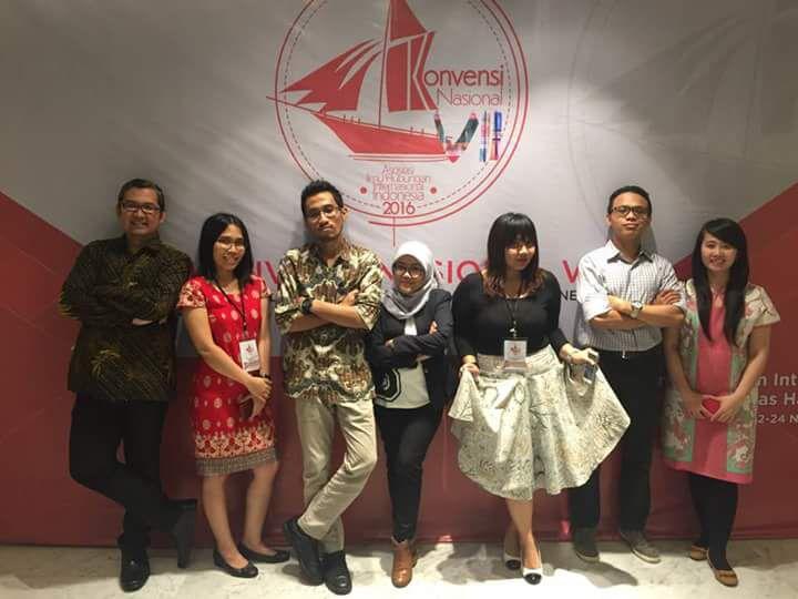 Delegasi HI Binus dalam Vennas VII AIHII Makassar