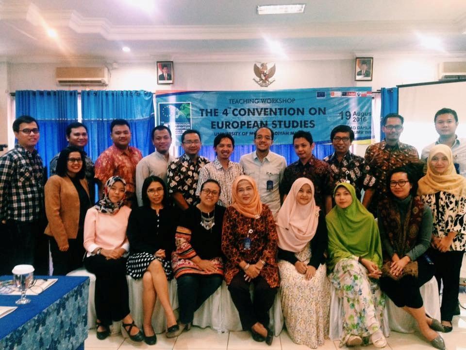 Dosen HI Binus Berpartisipasi dalam Forum Komunitas Indonesia untuk Kajian Eropa di Malang, Agustus 2016