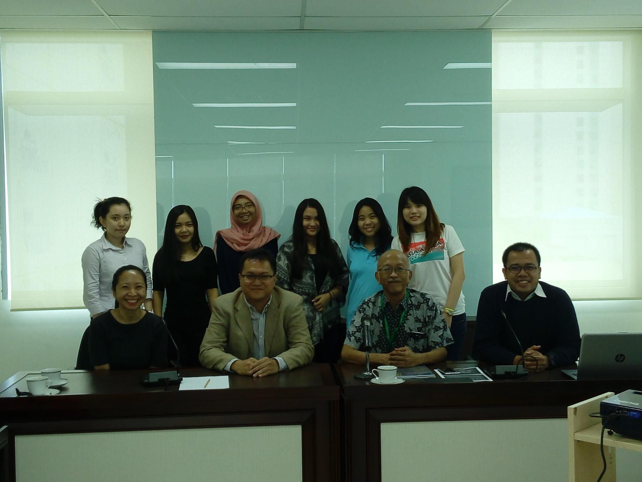 Kunjungan Mahasiswa Mata Kuliah Perdagangan Internasional ke CSIS