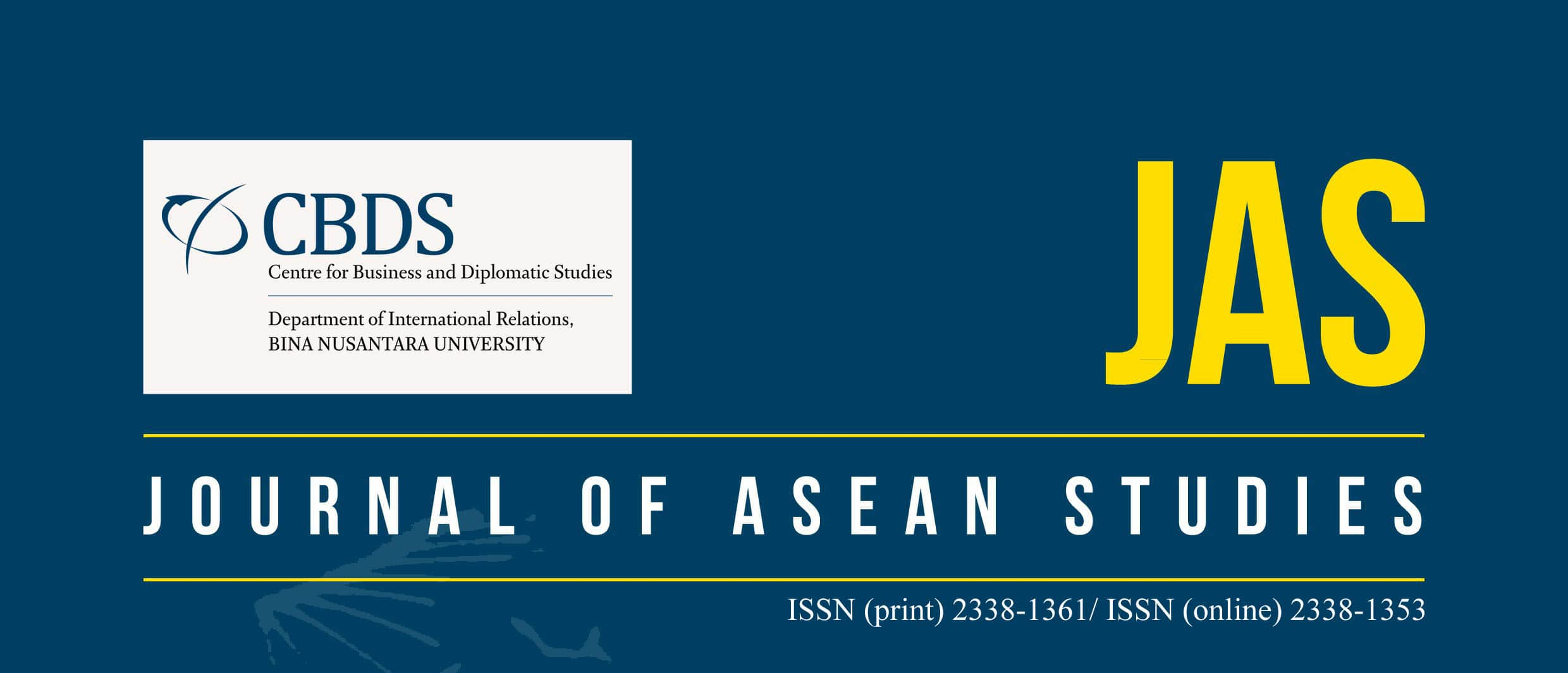 New Edition of Journal of ASEAN Studies has been published
