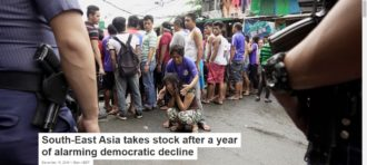 South-East Asia takes stock after a year of alarming democratic decline