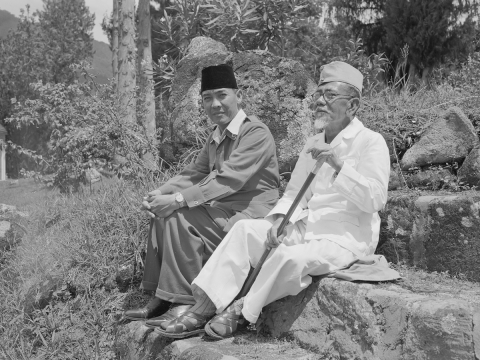 Islamic ideas versus secularism: The core of political competition in Indonesia