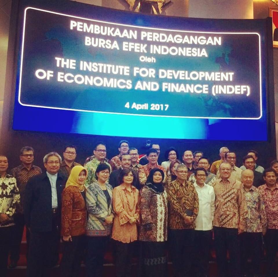 Pembukaan Perdagangan BEI oleh INDEF