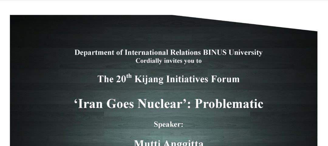 20th Kijang Initiatives Forum
