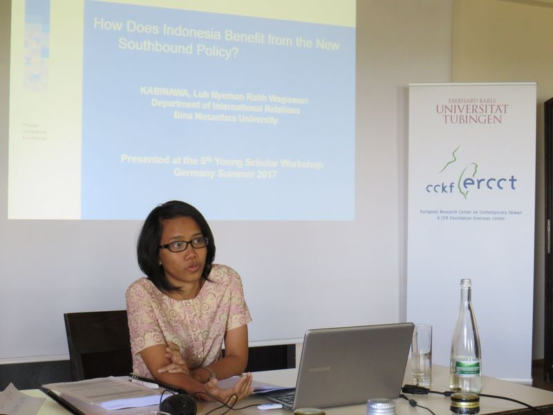 Luh Nyoman Ratih Wagiswari Kabinawa at Young Scholars Workshop 2017