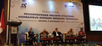 Dosen HI Binus Menjadi Moderator Diskusi Publik Pengembangan Industri Strategis