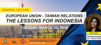 European Union – Taiwan Relations: The Lesson for Indonesia