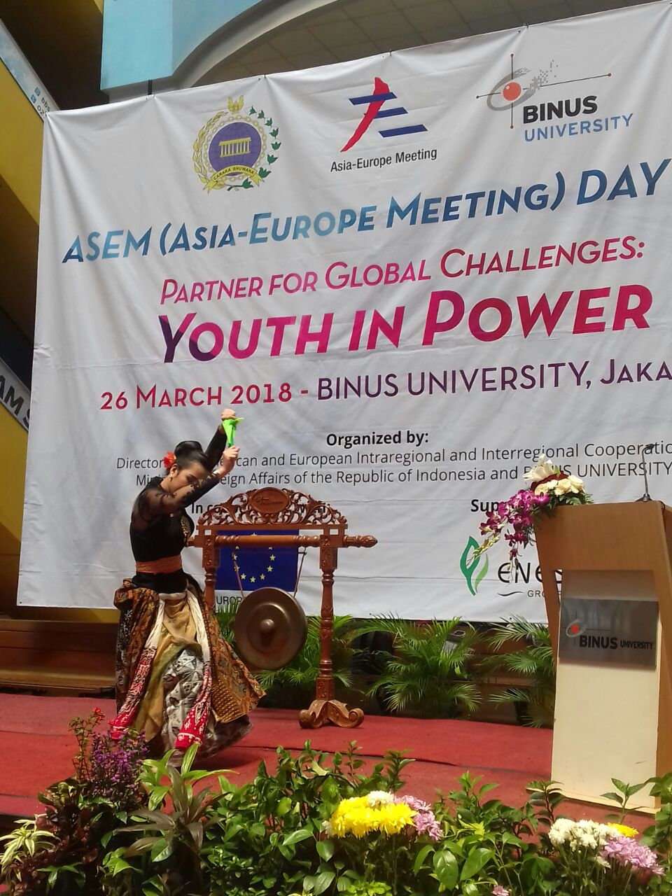 "ASEM Day 2018: ""Partner for Global Challenges: Youth in Power"""