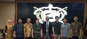 Internship di Kementerian Pertahanan RI: Sesi Sharing