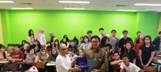 Passage to ASEAN (P2A): Binus University & Universiti Teknologi Malaysia