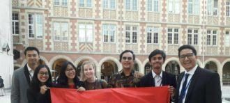 Prestasi Mahasiswa HI Binus di Paris International Model United Nations