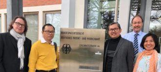 Ketua Jurusan HI BINUS Mengunjungi Federal Patent Court Jerman