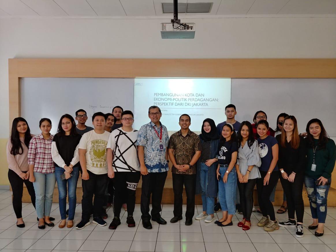 Pembangunan Kota dan Ekonomi Politik Perdagangan: Perspektif Dari DKI Jakarta