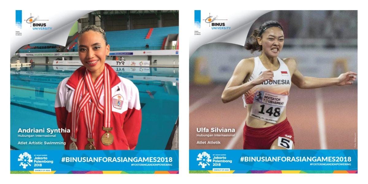 Mahasiswi HI BINUS Mewakili Indonesia dalam Asian Games 2018