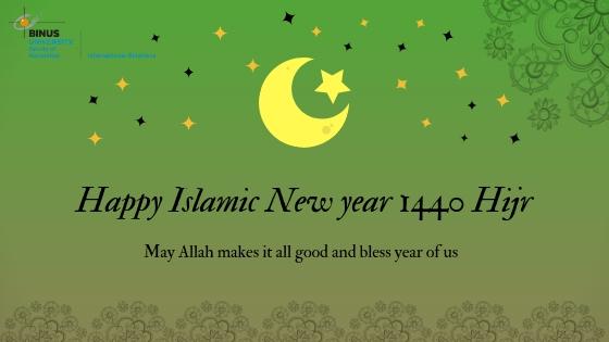 Happy Islamic New Year 1440 H