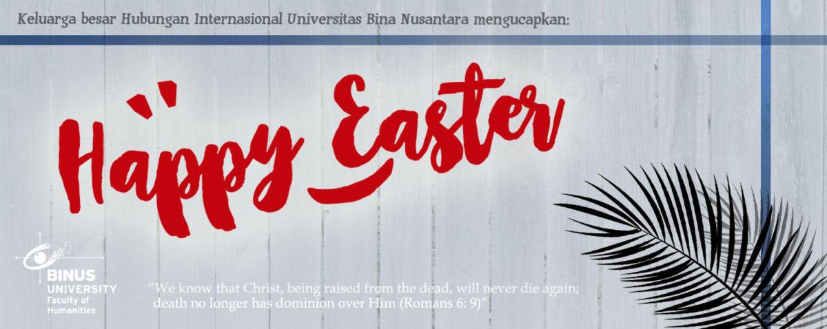 Selamat Paskah!