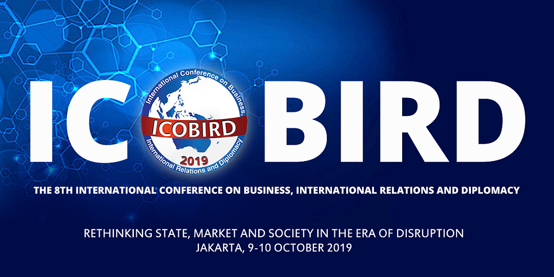 The 8th INTERNATIONAL CONFERENCE ON BUSINESS, INTERNATIONAL