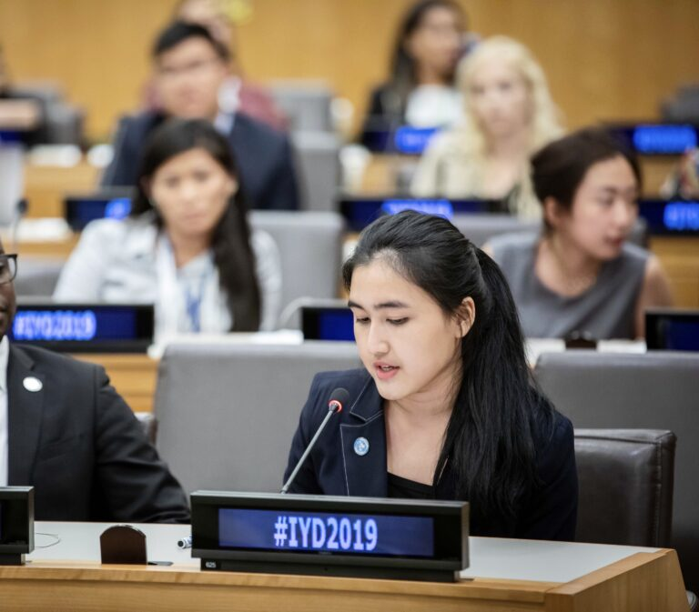 The Talented IR Binus Student: Audric's journey at the UNHQ